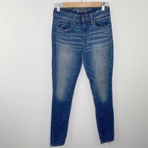 American Eagle Outfitters Hi-Rise Jeggings 4S